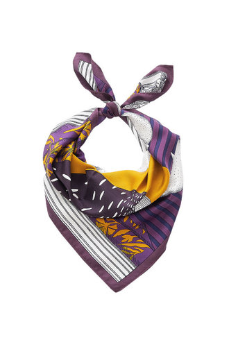 Inouitoosh Madame Bon Scarf Purple