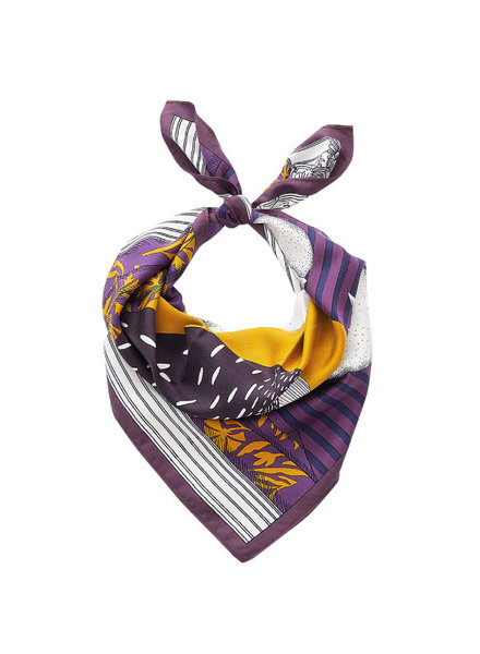 Inouitoosh Madame Bon Scarf Purple