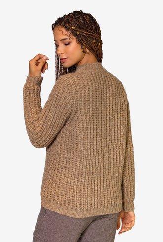 Pomandere Alpaca Sweater Gold