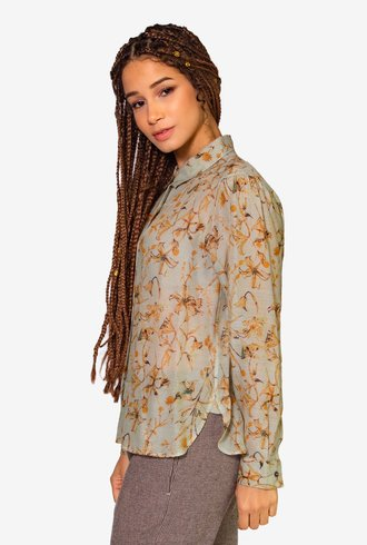 Pomandere Seta Shirt Floral