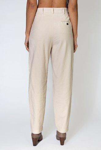 Pomandere Fustagnodicotone Pant Dirty White