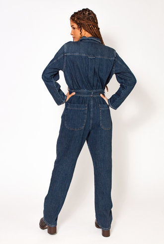 Nikky McBridget Overalls Jumpsuit Blue Denim