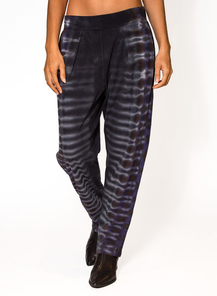 Raquel Allegra Easy Pant Tie Dye Night Orchid
