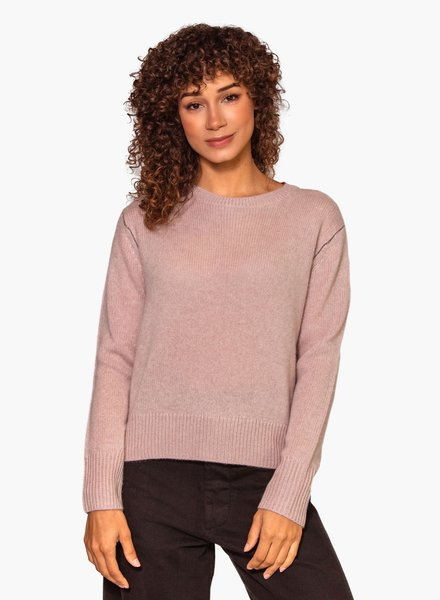 360 Sweater Karla Adobe Pink