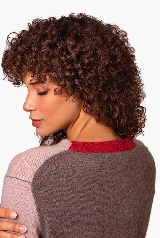 360 Sweater Karla Adobe Pink