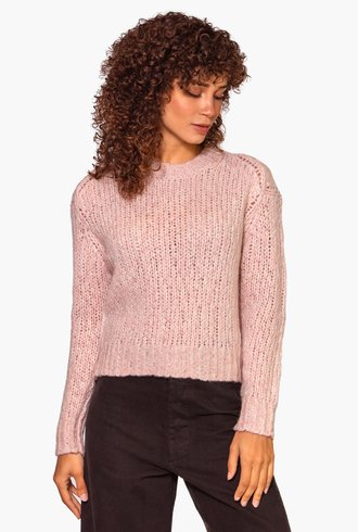 360 Sweater Abbot Adobe Pink