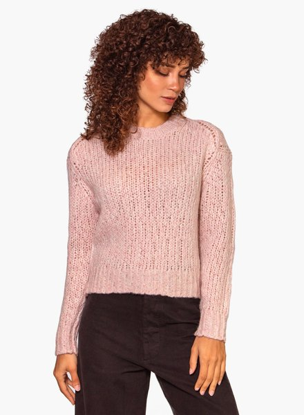 360 Sweater Abbot Adobe Pink