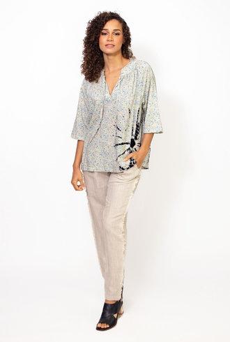 Raquel Allegra Harmony Shirt Cornflower