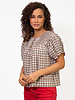 The Great The Hazel Top Meadow Plaid