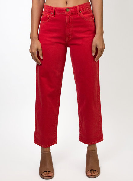 The Great The Easy Roll Jean Cherry Red