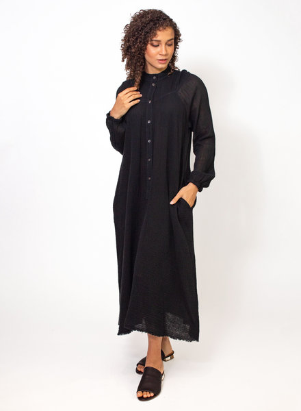 Raquel Allegra Serenity Dress Black