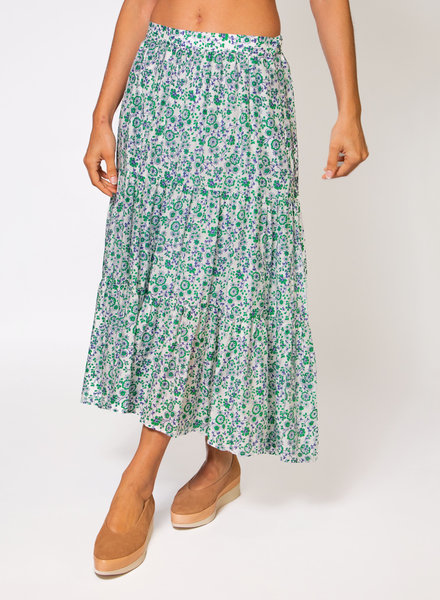 Xirena Iris Skirt Leaf