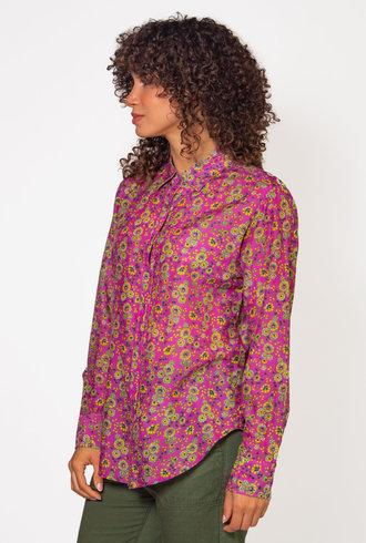 Xirena Beau Shirt Pink Amethyst