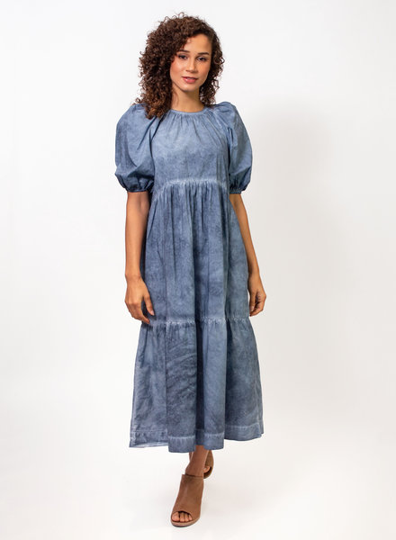 The Great Park Dress Indigo Fog