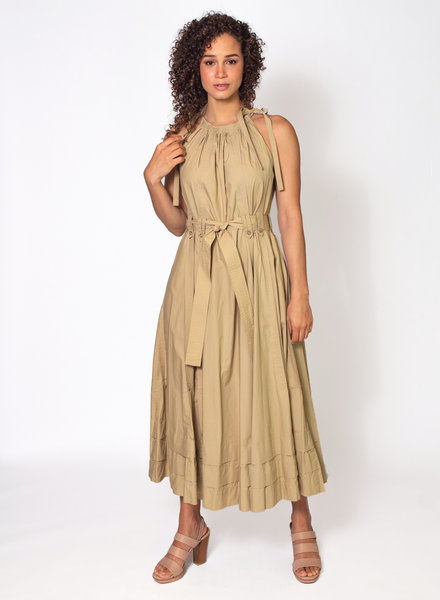 Ulla Johnson Joni Dress Khaki