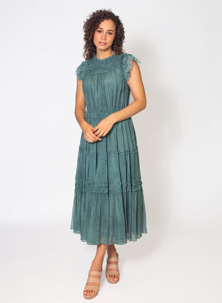 Ulla Johnson Marta Dress Adriatic