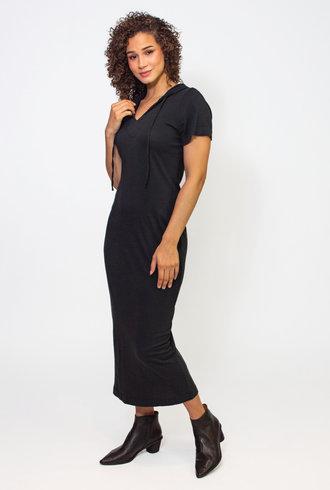Raquel Allegra Black Uma Dress