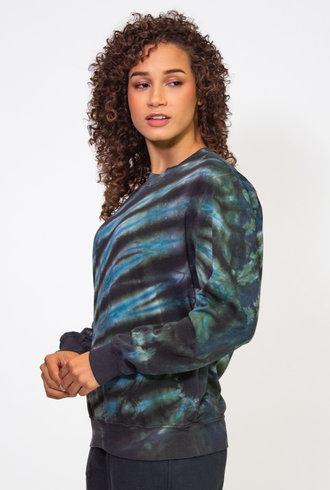 Raquel Allegra Moss Aqua Perfect Sweatshirt