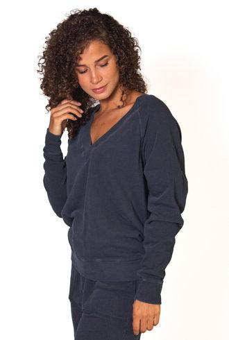 The Great The V-Neck Sweatshirt