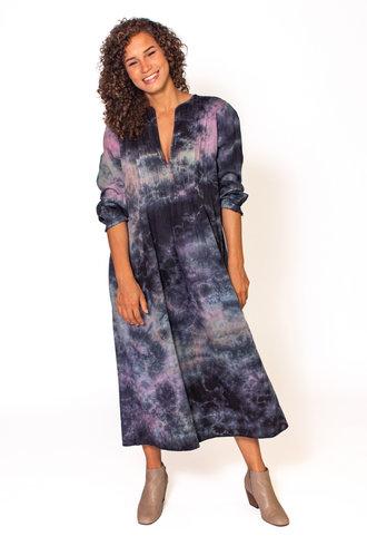 Raquel Allegra Victorian Pintuck Dress