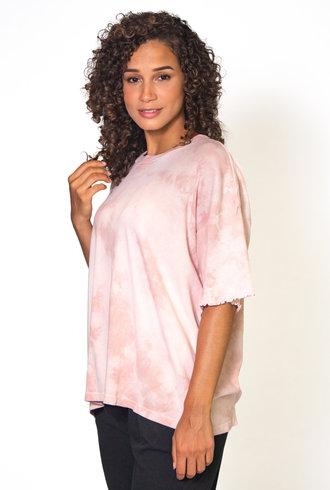 Raquel Allegra Oversize Short Sleeve Tee