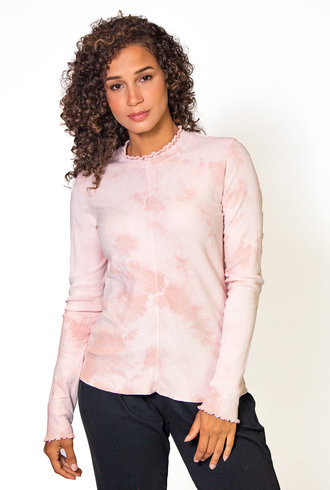 Raquel Allegra Long Sleeve Fitted Tee