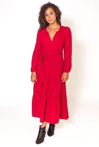 Xirena Addison Dress Red Jasper