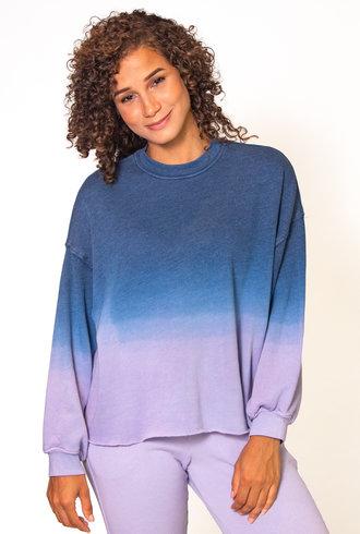 Xirena Honor Sweatshirt Violet Blue