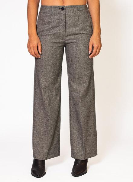 Pomandere Jacquard Wool Pants