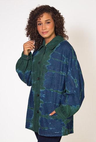 Raquel Allegra Kelly Storm Tie Dye Explorer Jacket