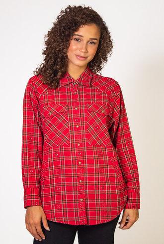 Xirena Sierra Shirt Red Stone