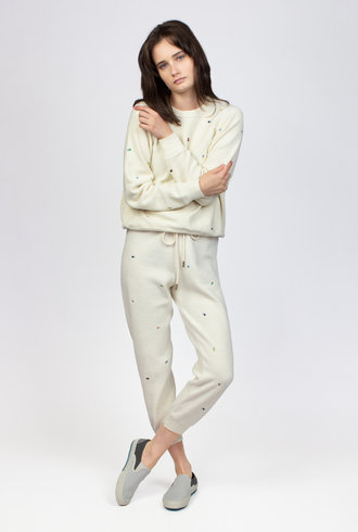 The Great The Sherpa  Cropped Sweatpant