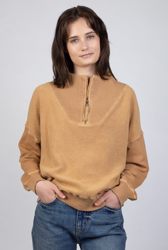 The Great  The Trail Pullover Oat