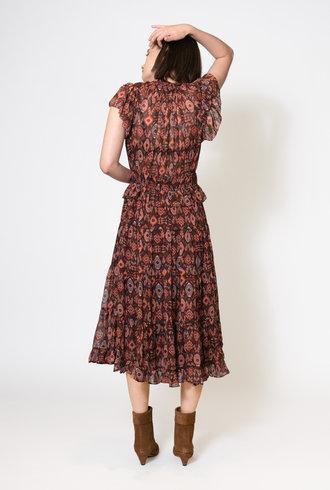 Ulla Johnson Emine Dress Garnet
