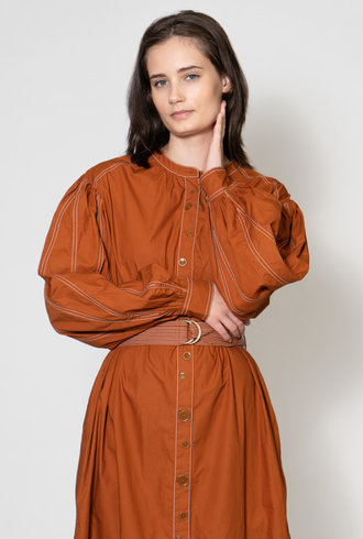 Ulla Johnson Maia Dress Sumac