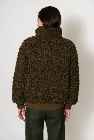 Apiece Apart Sienta Bomber Jacket Olive