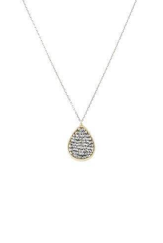 Dana Kellin Fashion Silver Gold Filled  Necklace