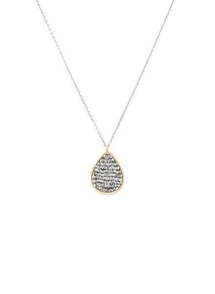 Dana Kellin Fashion Silver Gold Filled  Necklace