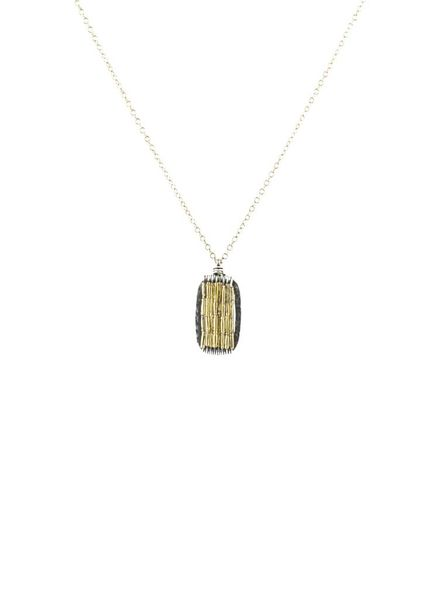 Dana Kellin Fashion Silver and Gold Necklace