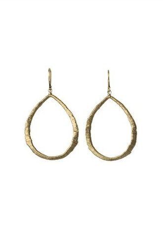 Dana Kellin Fine 14k Open Teardrop Earrings