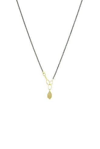 Sarah McGuire Two-Tone Slice Necklace