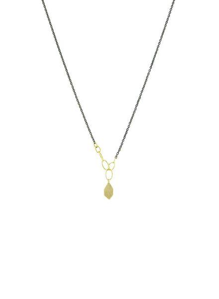 Sarah McGuire Two-Tone Slice Necklace