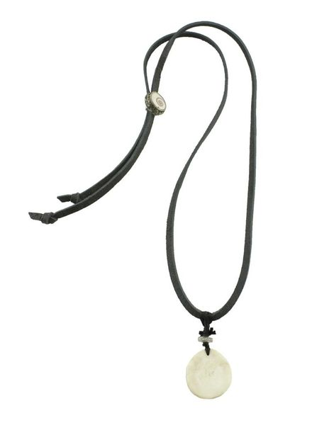 Renee Garvey Antler Slice Diamond Ring Necklace