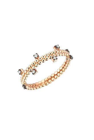 KISMET by Milka Diamond Beads Ring
