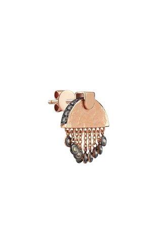 KISMET by Milka Le Soleil Short Tassels Small Earring