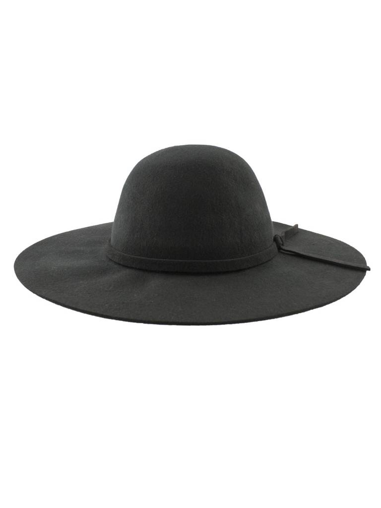 77277d55 Brooklyn Hat Co. - Steph Felt Floppy Hat Black - Women's Clothing ...