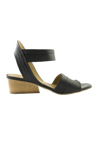 Coclico Outside Ankle Strap Sandal Kent Black