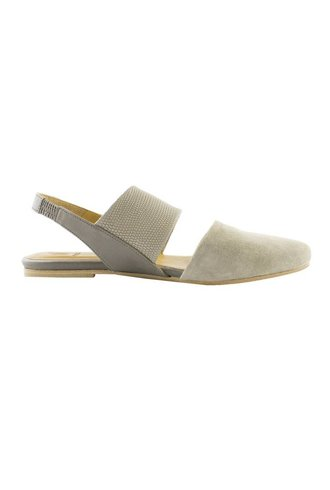 Coclico Open Slingback Flats Doe Nickel