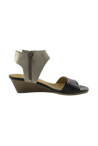 Coclico Kiss Low Wedge Sandal Black