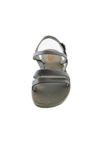 Local Kaja Leather Sandals Grey